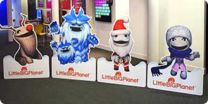 freestanding little big planet character cut-outs
