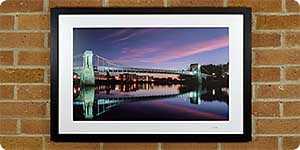 A great framed picture of Trent Bridge
